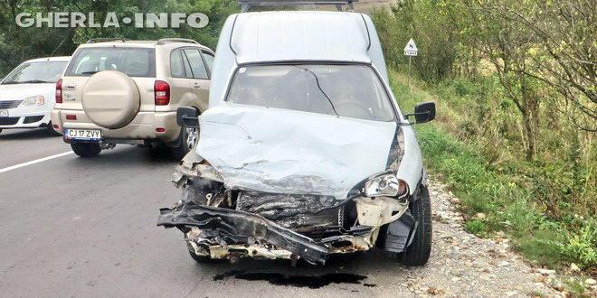 accident gherla tamponare opel volkswagen