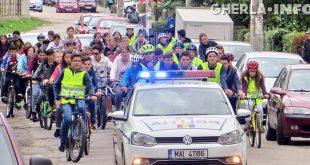 biciclisti scoala nr 1 gherla politie
