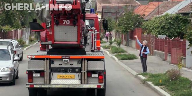 pompieri gherla defilare ziua pompierilor
