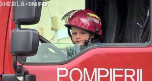 ziua pompierilor gherla isu cluj copil