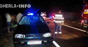 accident bunesti volkswagen pompieri dej