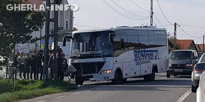 accident bustrans gherla bihor topa de cris