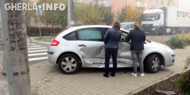 accident gherla citroen volkswagen
