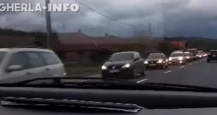 circulatie trafic gherla cluj coada coloana masini