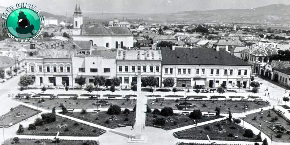 gherla 1960 obelisc parc