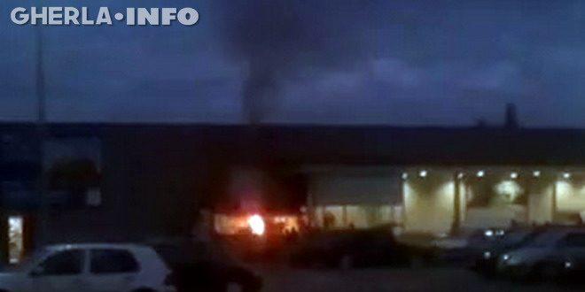 incendiu kaufland gril gherla