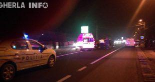accident gherla asmbulanta politie strada clujului