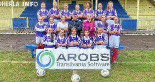 echipa fotbal fete atletic olimpia gherla