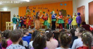 gradinita casuta fermecata gherla copii carnaval