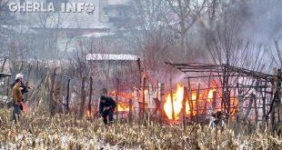 incendiu cabana pompieri gherla