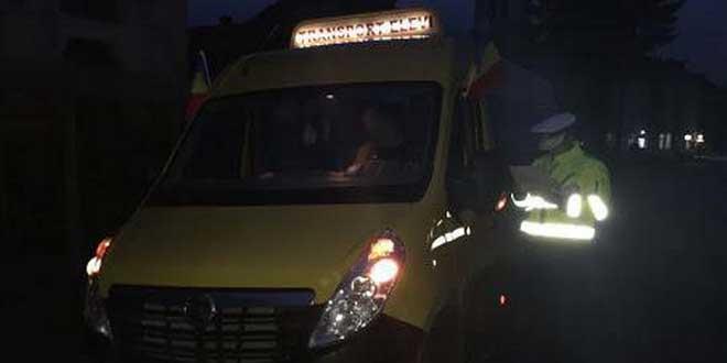 microbuz scolar politie