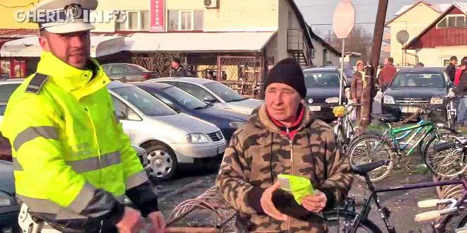 politie gherla biciclist