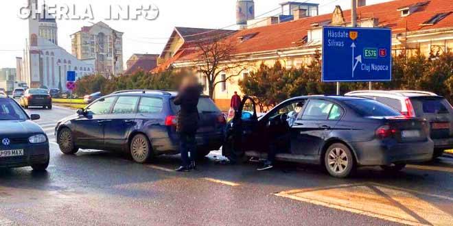accident gherla bmw volkswagen