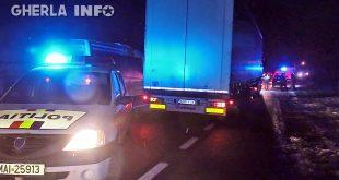 accident livada tir politie