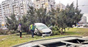 aaccident cluj marasti masina