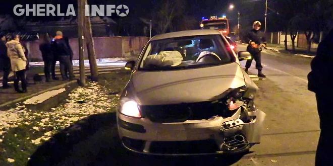 accident gherla wolkswagen strada mintiului