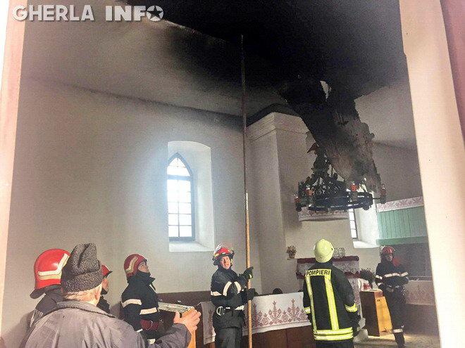 incendiu rascruci biserica reformata