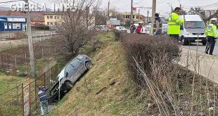 accident cluj masina pod ira