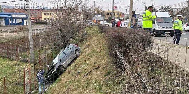 accident cluj masina pod ira