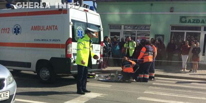 accident cluj ambulanta