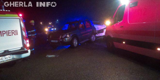 accident jeep land rover pompieri gherla dej