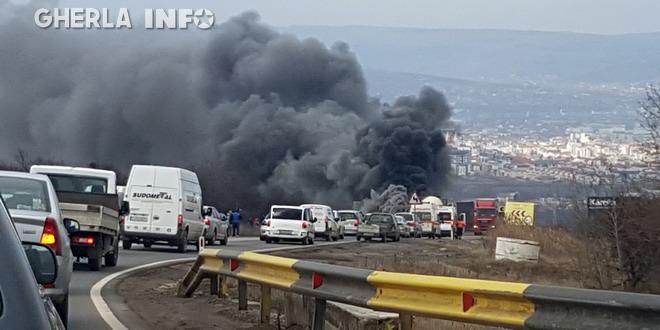 incendiu cluj calea turzii