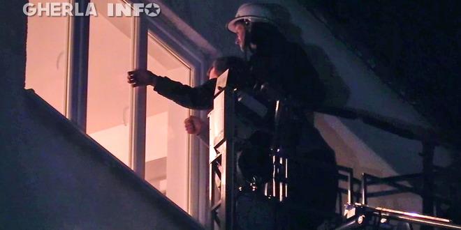 pompieri gherla geam scara