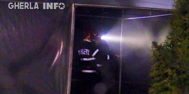 pompieri sera incendiu bunesti