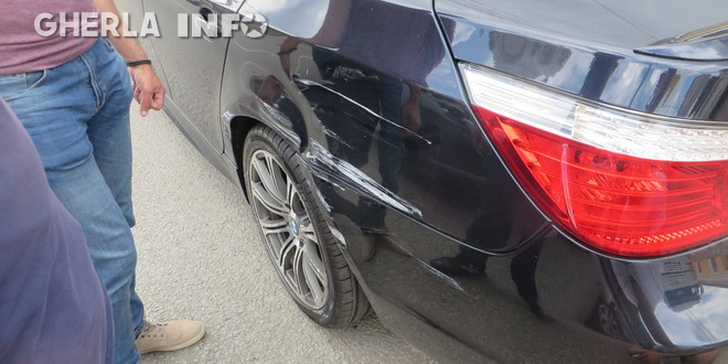 accident bmw tir gherla
