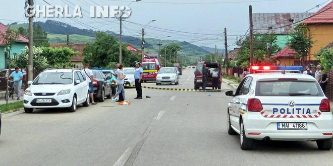 accident gherla strada hasdatii politie