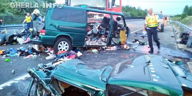 accident microbuz ungaria