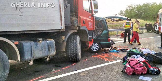 accident ungaria microbuz