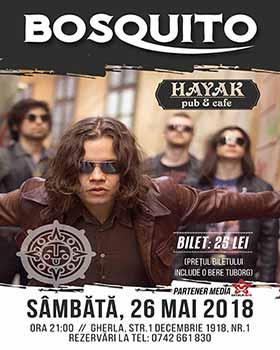 concert bosquito hayak gherla