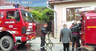 incendiu gherla pompieri strada tudor vladimirescu casa