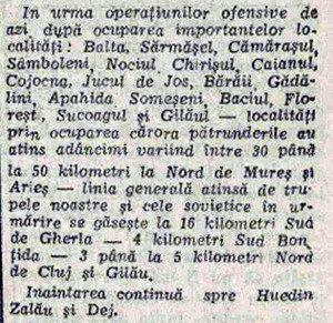 1944 eliberare cluj scanteia razboi