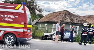 accident fundatura audi smurd pompieri