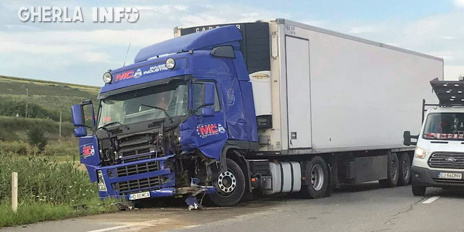 accident tir apahida cluj