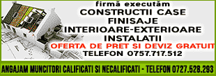constructii case zugrav instalatii reparator gherla dej cluj