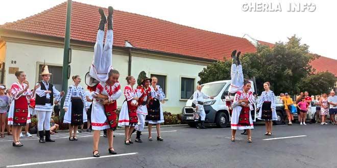 festival dans gyula dansatorii de pe somes gherla ungaria szamosujvar