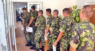 militari armata recrutare