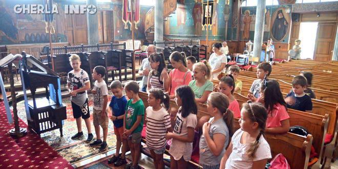 scoala vara copii biserica gherla