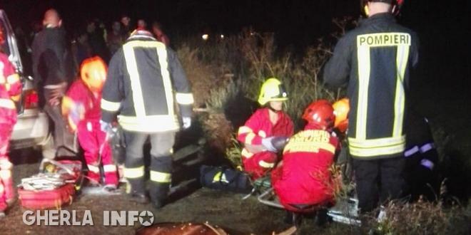 accident chinteni deusu pompieri caruta mort