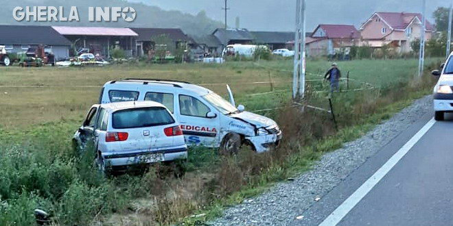 accident coplean caseiu ambulanta bgs pompieri dej politie