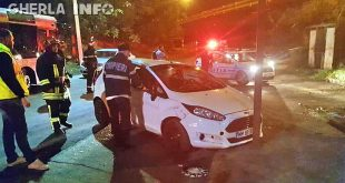 accident cluj politie pompieri ford