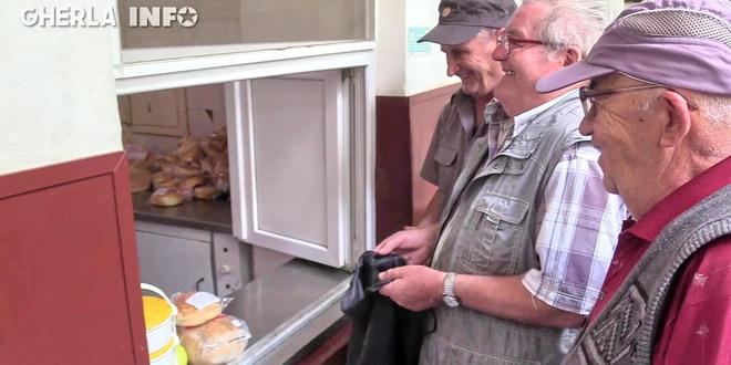 cantina gherla ajutor social varstnici pensionari cluj