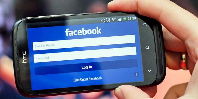 facebook mobil telefon