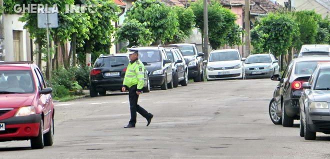 politist gherla strada dragos voda trafic sosea masina