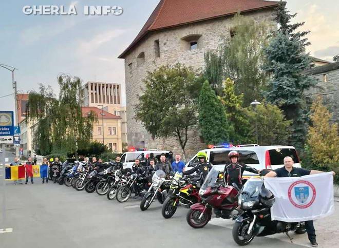 tricolor motociclisti cluj alba