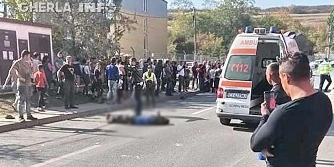 accident cluj pata rat ambulanta mort cantonului