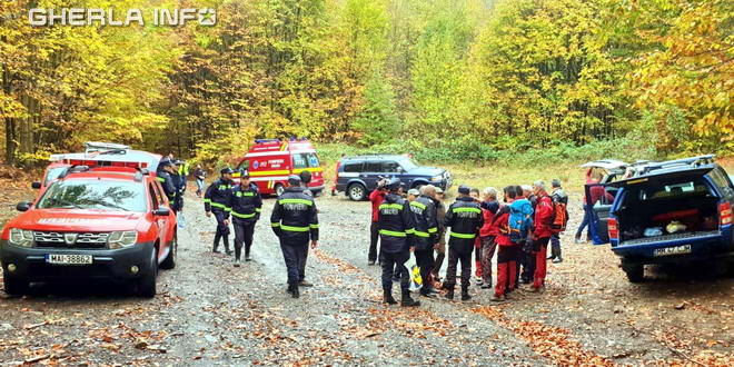disparut cautare pompieri maramures